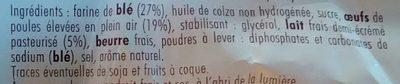 Gateau moelleux au lait frais st michel - Ingrédients