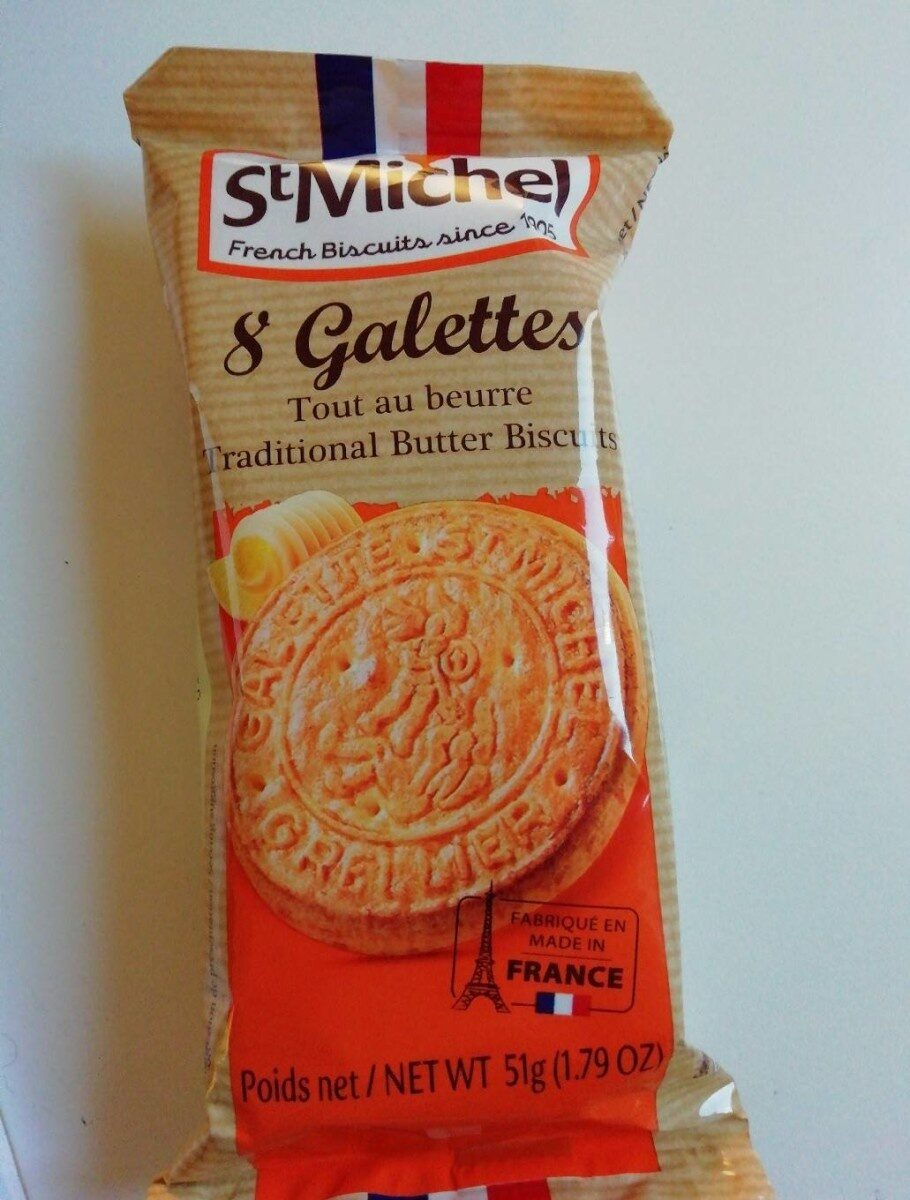 8 galettes - Product