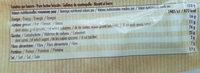 8 galettes - Voedingswaarden - fr