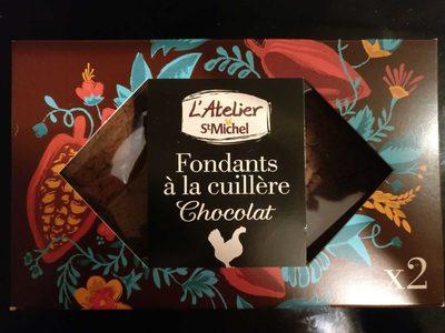 Fondants à la Cuillère Chocolat - Product