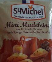Mini madeleines - Produto - fr