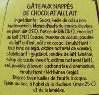 DOONUTS NAPPE CHOCOLAT - Ingrediënten - fr