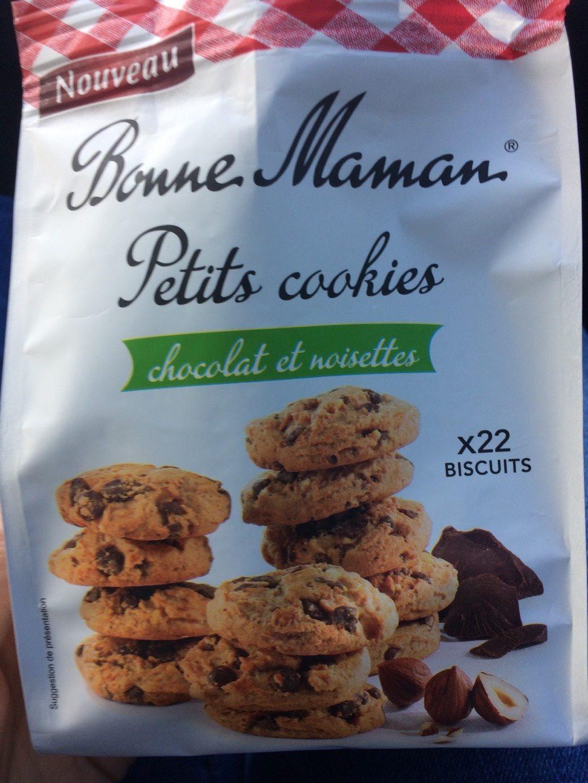 Petits cookies chocolat et noisettes - Product - fr