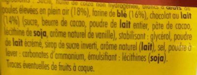Doonuts Nappé Chocolat - Ingrédients - fr