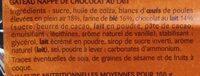 Doonuts Nappé Chocolat France - Ingredienti - fr