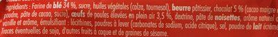 Crousty Buns Chocolat - Ingrédients - fr