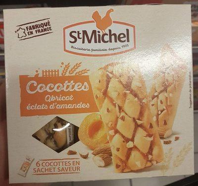 Cocottes abricot éclats d'amandes - Product