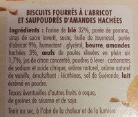 Cocottes abricot éclats d'amandes - Ingrediënten