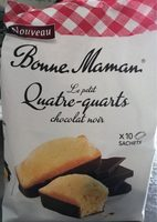 le petit quatre-quarts chocolat noir - Product - fr