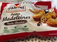 Petites Madeleines Pépites Chocolat - Product - fr
