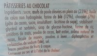 Tam Tam Tout Choco - Ingredients