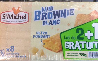 Mini Brownie Blanc - Product - fr
