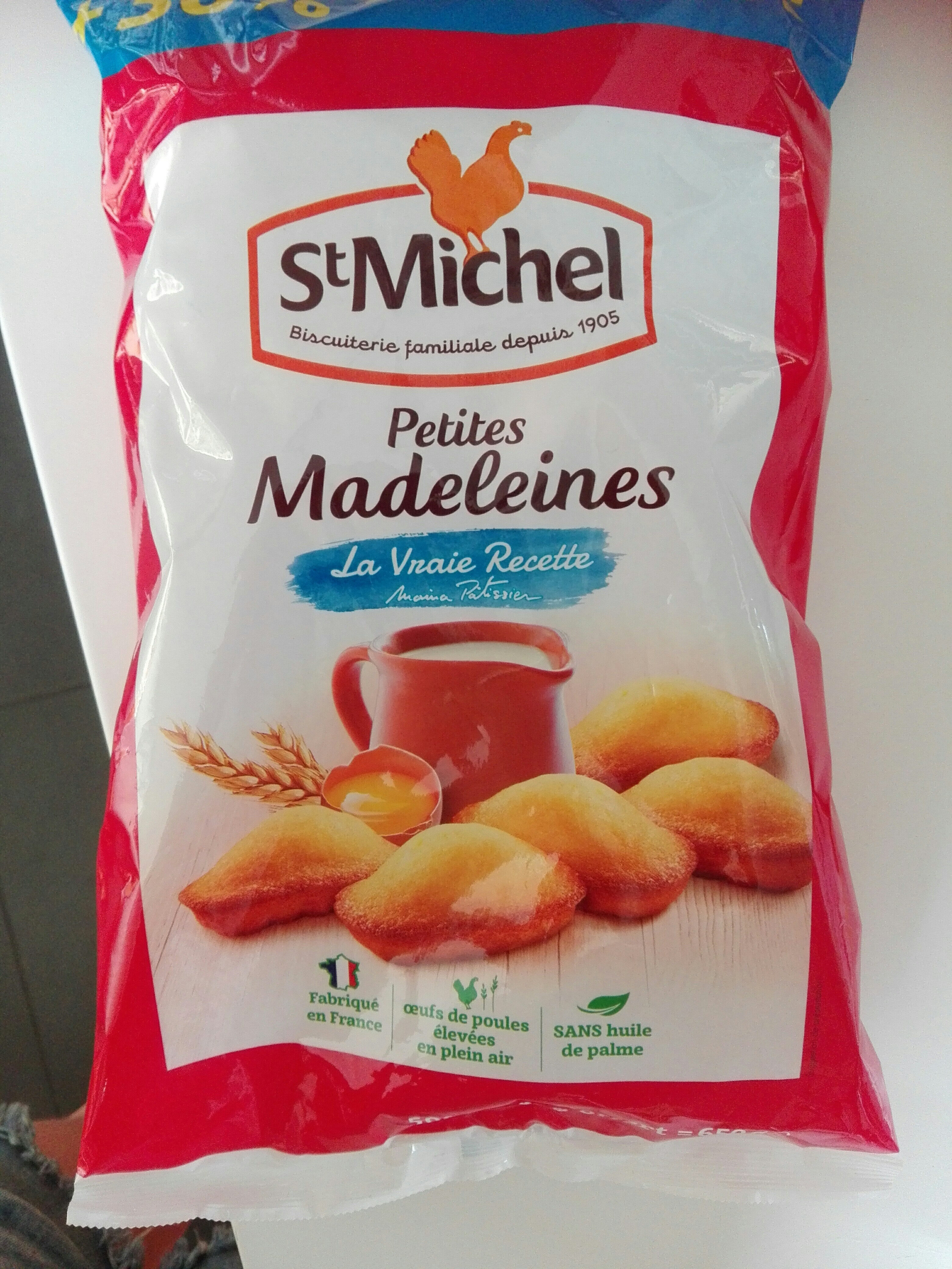 Petites madeleines - Product