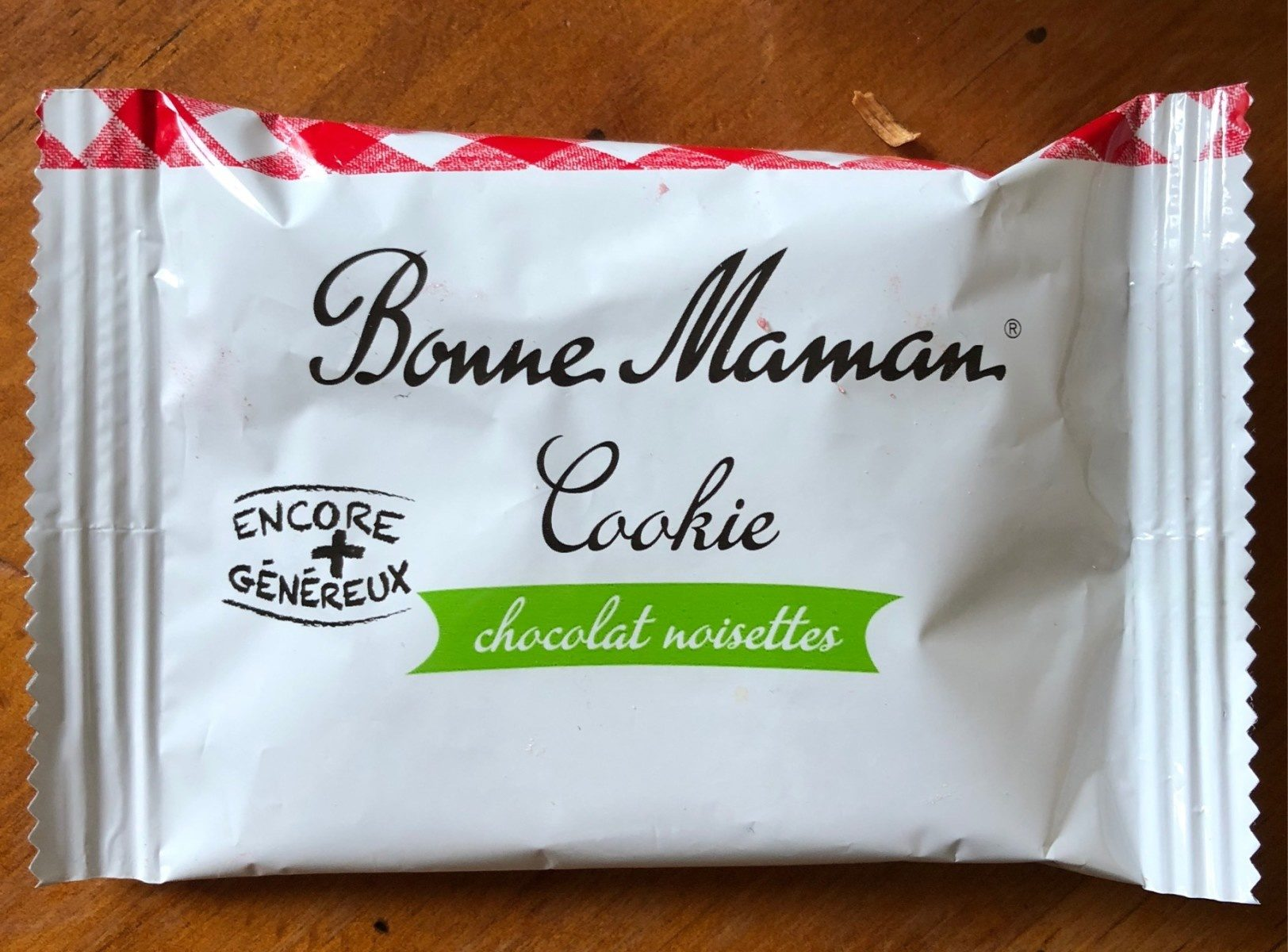 Cookie chocolat noisettes - Product - fr
