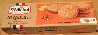 Galettes au beurre - Produit - fr