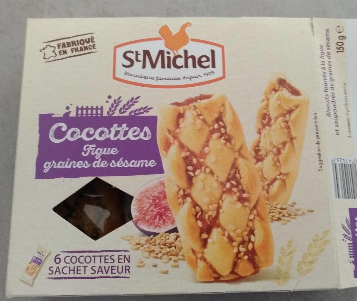 Cocottes Figues Graines de Sésame - Product - fr