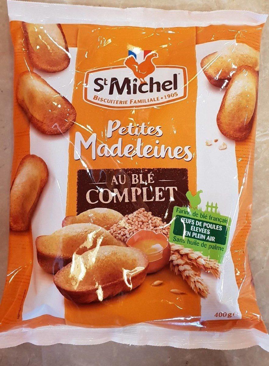 Petites Madeleines au blé complet - Produit