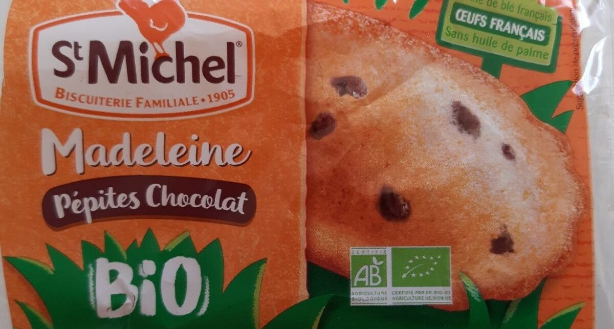Madeleine Pépites Chocolat - Produit - fr