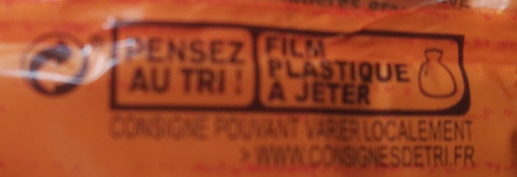 Madeleine Pépites Chocolat - Instruction de recyclage et/ou informations d'emballage - fr