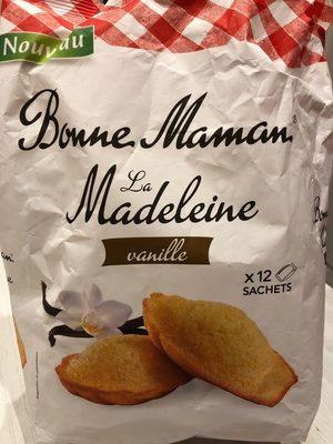 Madeleines vanille - Produit - fr