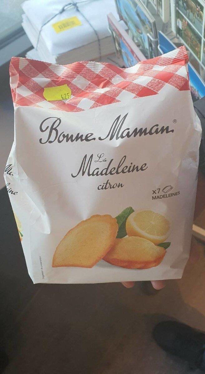 Bonne maman, la madeleine citron - Prodotto - fr
