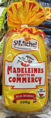 Madeleine recette de commercy pur beurre - Prodotto - fr