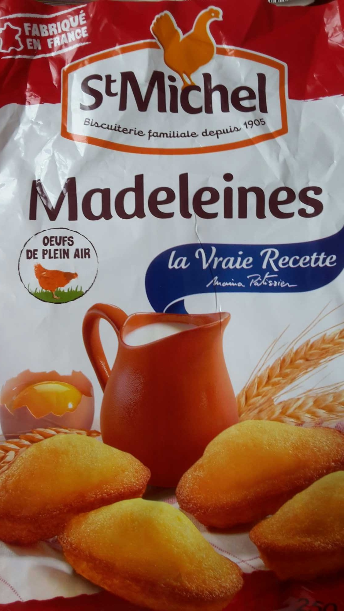 Madeleines - Product