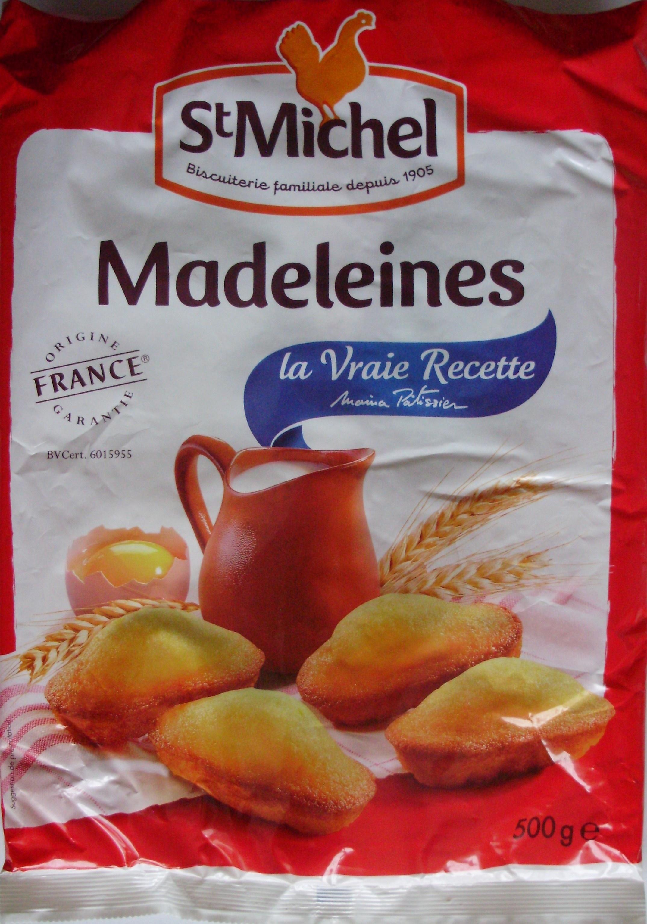 Madeleines la vraie recette st michel 500 g for Produit cuisine