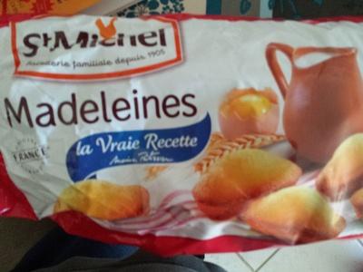 Madeleines la Vraie Recette - Produit - fr