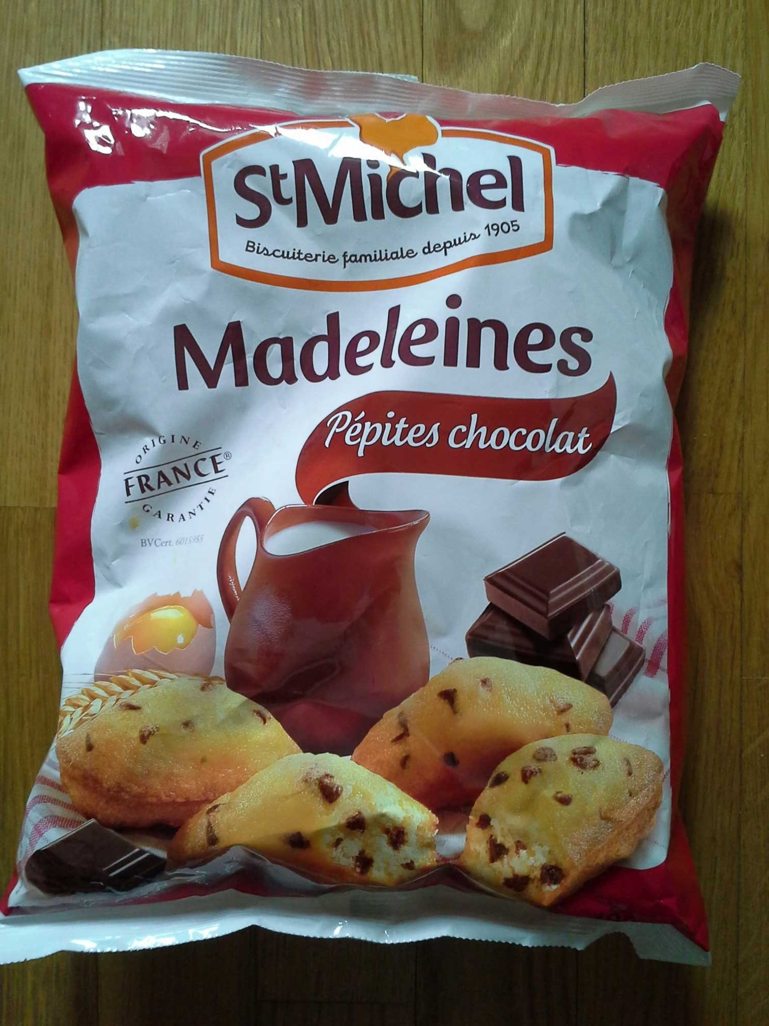Madeleines pépites chocolat - Produit - fr
