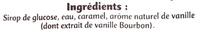 Vanille arôme naturel - Ingredients - fr