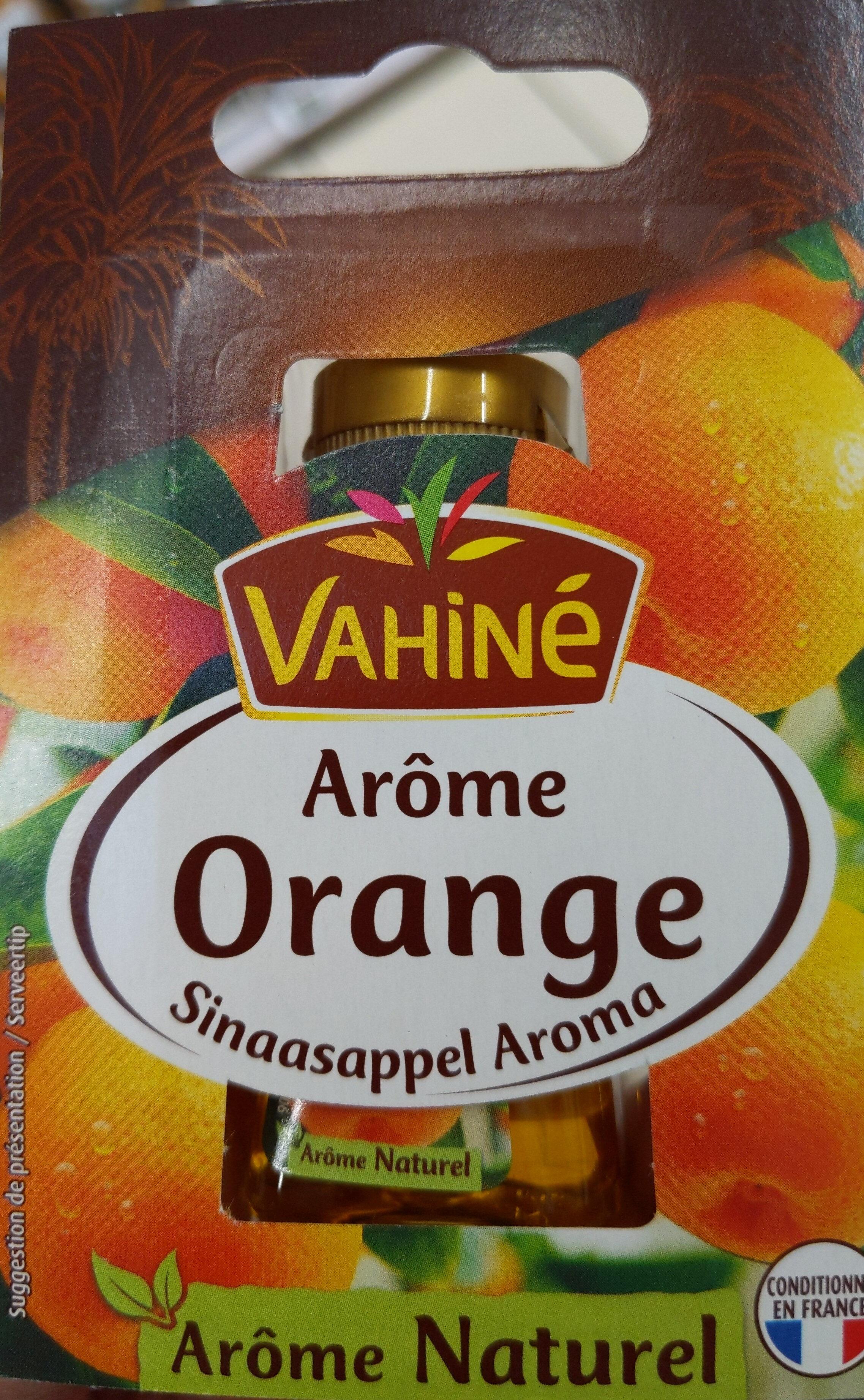 Arôme Naturel D'orange, 20 Millilitres, Marque Vahiné - Product - fr