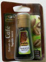 Extrait de café liquide - Produit