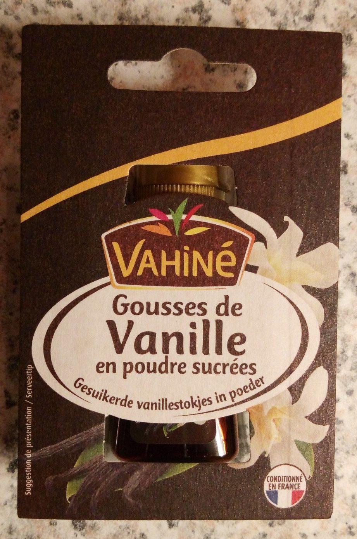 Gousses de vanille en poudre sucrées - Product