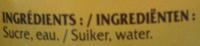 Caramel Nature - Ingrediënten