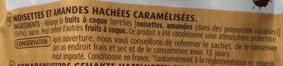 Pralin, praliné - Ingredients - fr