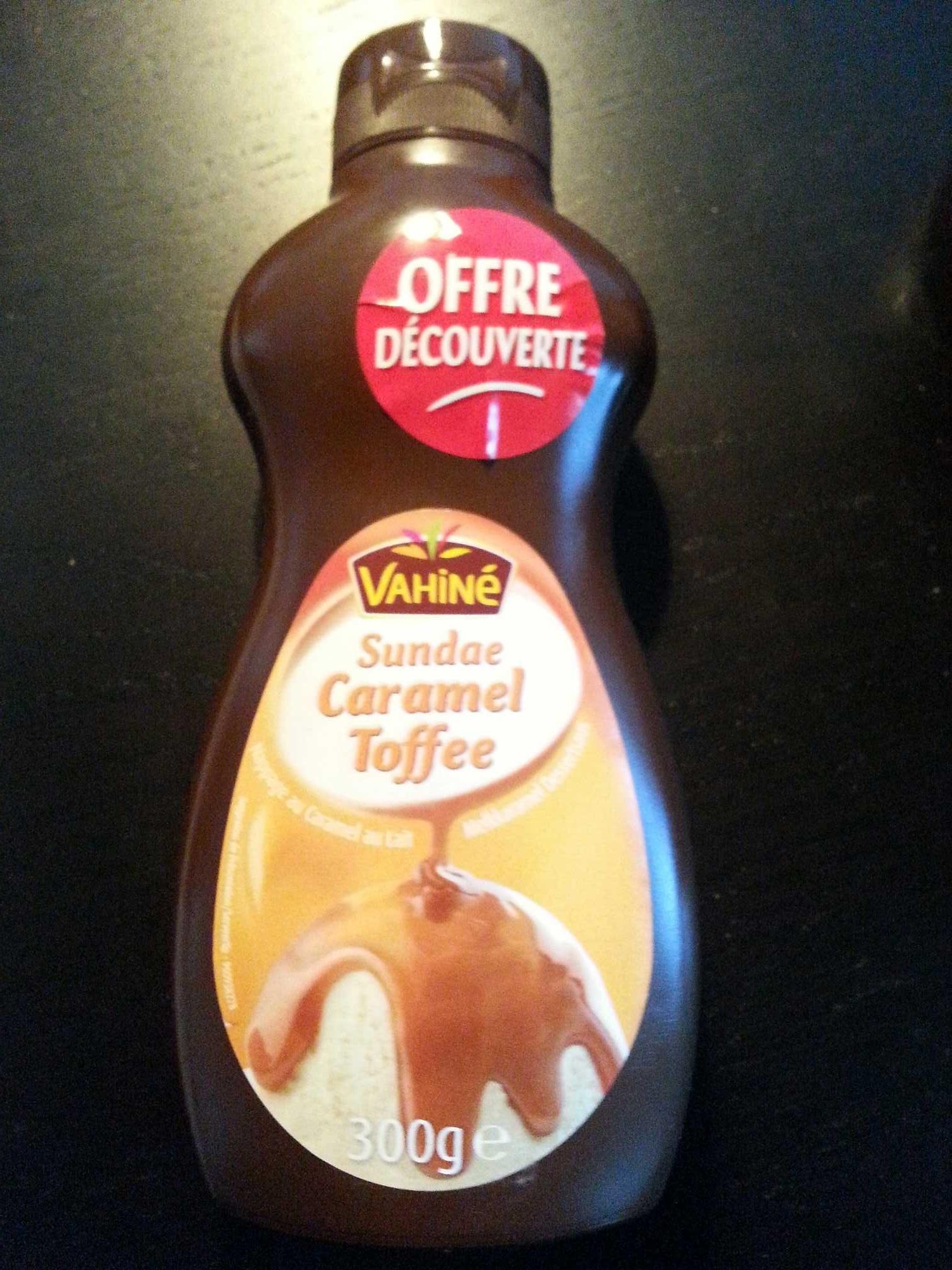 Sundae caramel - Product