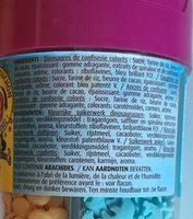 Vahiné Multideco adventure pot plastique Le sachet de 92gr - Ingrédients