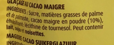Glaçage noir - Ingrediënten