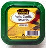 Fruits confits assortis -