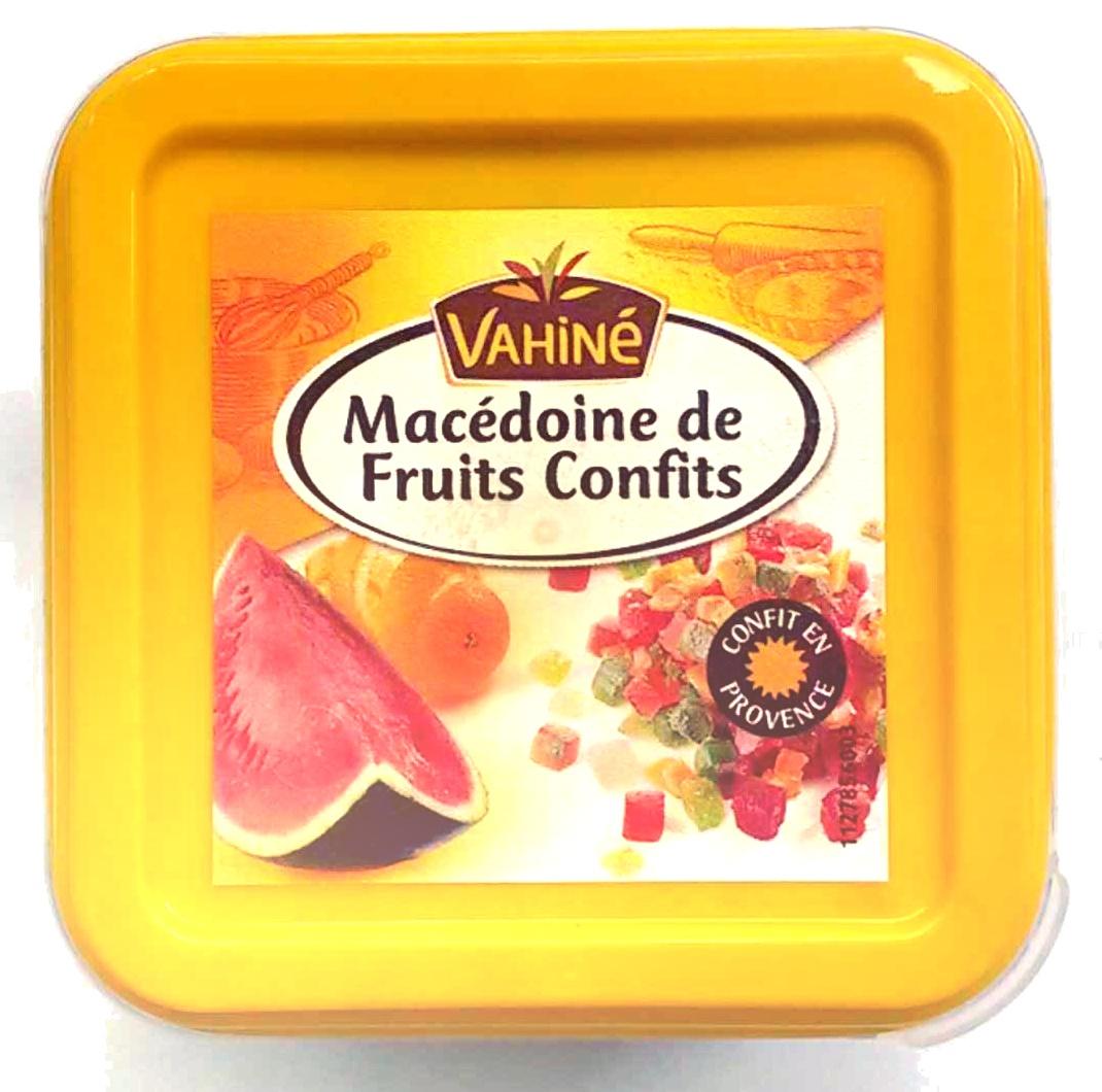 Macédoine de fruits confits - Produit - fr