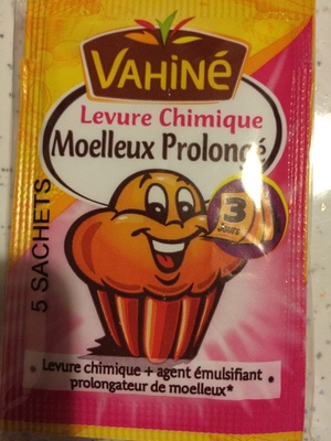 Levure Chimique Moelleux Vahiné - Product