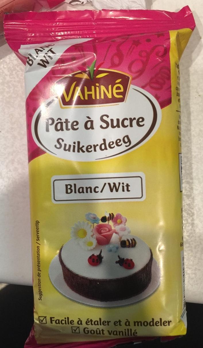 Pâte à sucre Blanc - Produit - fr