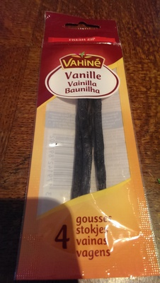 Gousses de vanille X4 - Product - fr