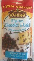 Pépites de chocolat au lait + 25% gratuit - Product - fr