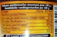 Multi-Déco - Informations nutritionnelles - fr