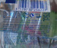 Vittel - Ingredients - fr