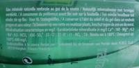 Perrier - Voedingswaarden - fr