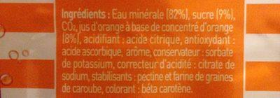 Plancoet Bizh Orange - Ingrédients - fr
