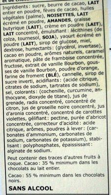 Calendrier de l'Avent - Ingrediënten - fr